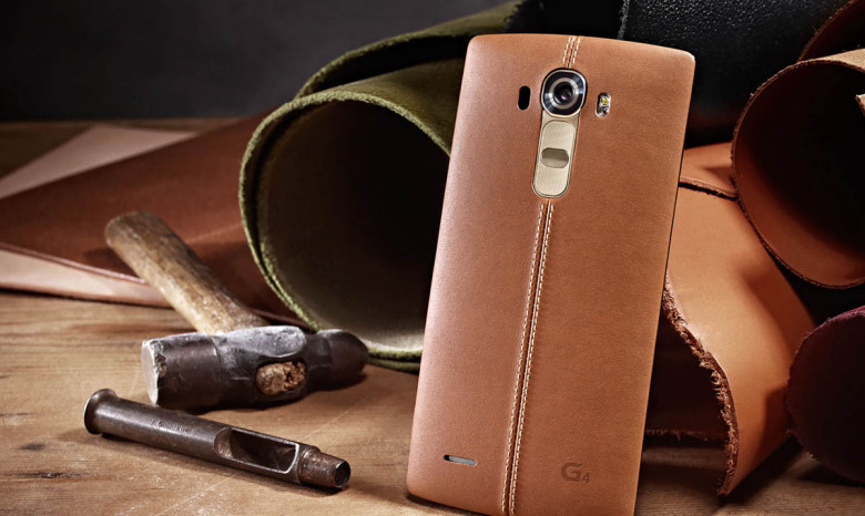 LG's latest G4 smartphone (Courtesy of LG Electronics)