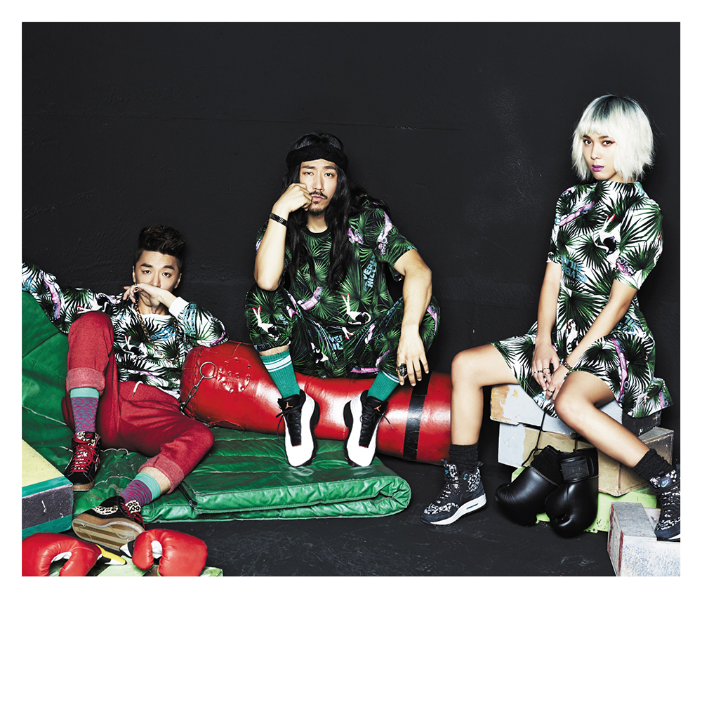 Bizzy, Tiger JK, Yoonmirae of MFBTY (Courtesy of MFBTY)