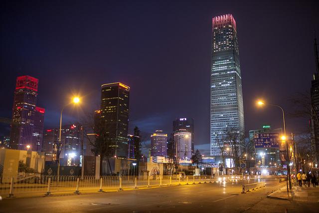 Guomao, Beijing (Courtesy of Jens Schott Knudsen via Flickr/Creative Commons)