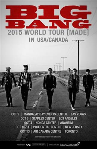 Big Bang 2015 North American tour