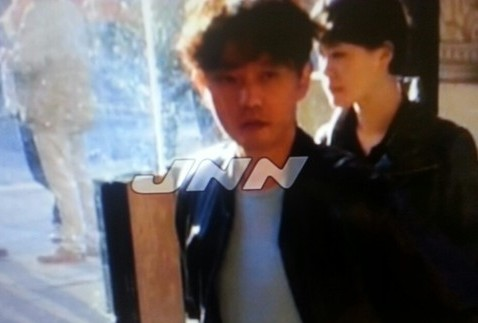 Japanese broadcast station TBS showed footage of Kim Jong-chul in London Wednesday. (Yonhap)