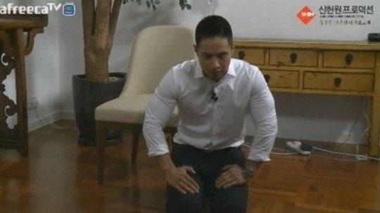 Yoo Seung-joon (screen capture from AfreecaTV)