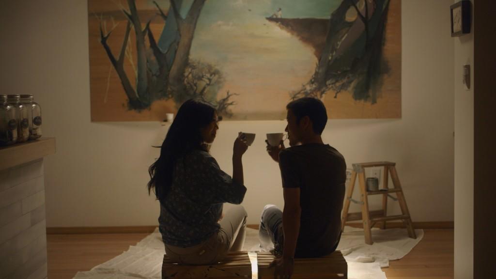 "Brittany Ishibashi, left, and Aaron Yoo in ""Everything Before Us"" (Courtesy of Wong Fu Productions)"