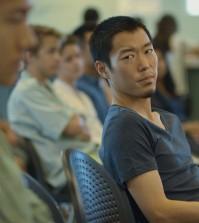 "Aaron Yoo in ""Everything Before Us"" (Courtesy of Wong Fu Productions)"