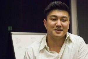 RushOrder CEO Eric Kim (Brian Han/Korea Times)