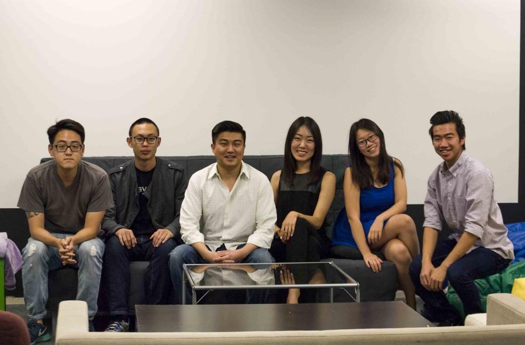 The RushOrder team (Brian Han/Korea Times)
