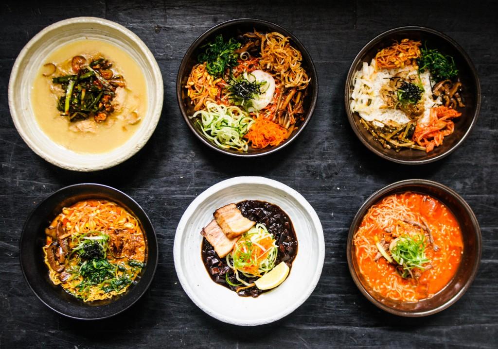 Mokbar's Korean-style ramens