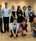 Members of BIAA, which will showcase an exhibition inside Gallery CLU in Koreatown this month.