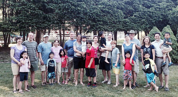 Korean Adoptive Families in CT had its first meeting at North Haven's Ridge Top Club Sunday.