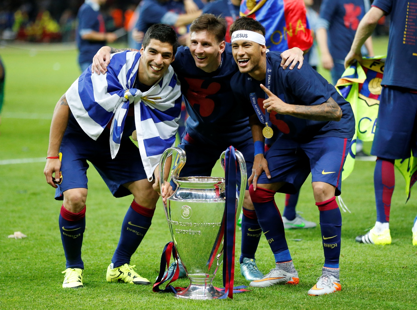 Barca Cruise Past Juventus To Win Champions League