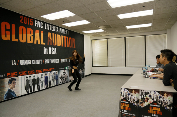K-pop hopefuls come out to FNC's global audition in LA – The Korea Times