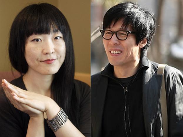 Writers Bae Soo-ah, Chun Myung-gwan