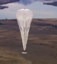 """Google's """"Project Loon"""" hopes to bring country-wide internet access to Sri Lanka by using balloons to set up a network. (YouTube)"""