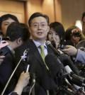 South Korea's Special Representative for Korean Peninsula Peace and Security Affairs Hwang Joon-kook (AP Photo/Lee Jin-man)