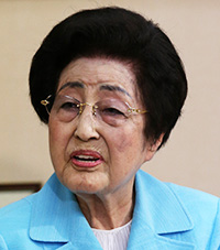 Ex-first lady of South Korea Lee Hee-ho (Yonhap)