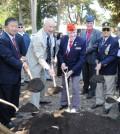 The groundbreaking ceremony for the San Francisco Korean War Memorial was held Saturday.