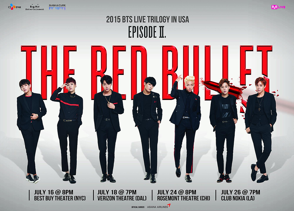 BTS Live Trilogy in USA Episode II: The Red Bullet