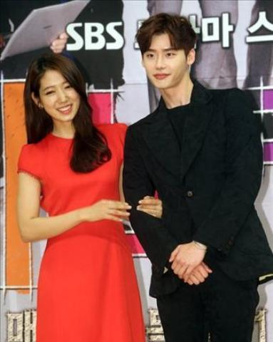 Park Shin-hye, Lee Jong-suk deny dating rumors