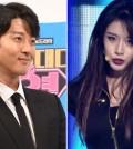 Lee Dong-gun, left, and Jiyeon. (Korea Times file)