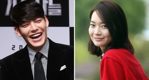 Kim Woo-bin, left, and Shin Min-ah, right (Yonhap)