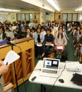The Korean Institute of Southern California held its 58th annual workshop for teachers Saturday inside Wilshire Park Elementary School in Los Angeles. (Choi Kyung-geun/Korea Times)