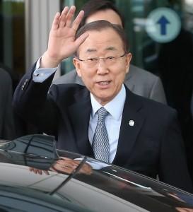 UN Secretary-General Ban Ki-moon (Yonhap)