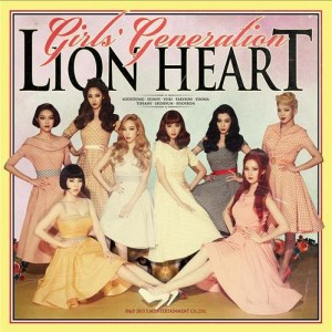 "The jacket of Girls' Generation's upcoming fifth album, ""Lion Heart"" (Yonhap)"