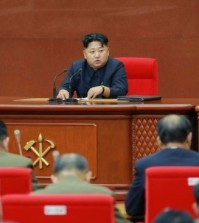 Undated picture released from North Korea of leader Kim Jong-un (Yonhap/KCNA)