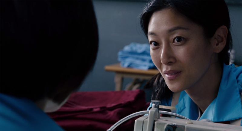 "Sara Sohn stars in Netflix's ""Sense8"" as prison inmate Soo-jin (screen capture)"