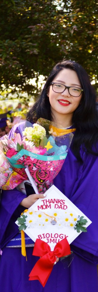 Jiyoun Jeon graduated from James Madison University this year with a biology degree.
