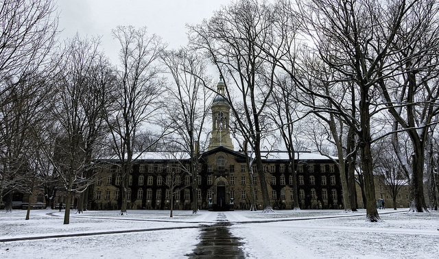 Princeton University's Nassau Hall (Courtesy of James Loesch via Flickr/Creative Commons)