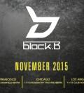 Block B U.S. Tour 2015 (SubKulture Entertainment)