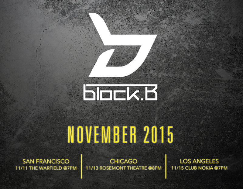 Block B U.S. Tour 2015 (SubKulture Entertainment)
