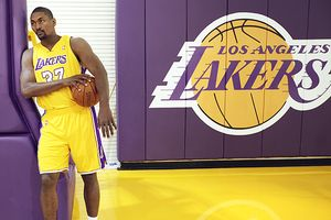 Metta World Peace is back with the Los Angeles Lakers.