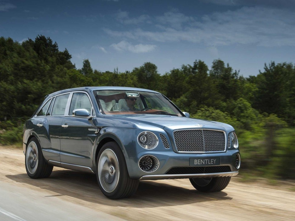 The Bentley Bentayga hybrid will use a Samsung battery. (Courtesy of Bentley Motors)