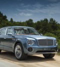 The Bentley Bentayga hybrid will use a Samsung battery. (Courtesy of Bentley Motors)