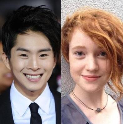 Justin Chon and Liv Hewson. (Yonhap)