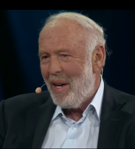 Jim Simons during a TED interview (YouTube)