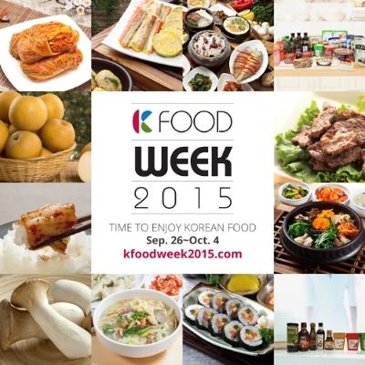 K-Food Week 2015