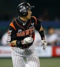 Son Ah-seop for the Lotte Giants of the Korea Baseball Organization (Yonhap file photo)