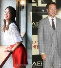 Uhm Jung-hwa, left, and Uhm Tae-woong (Yonhap)
