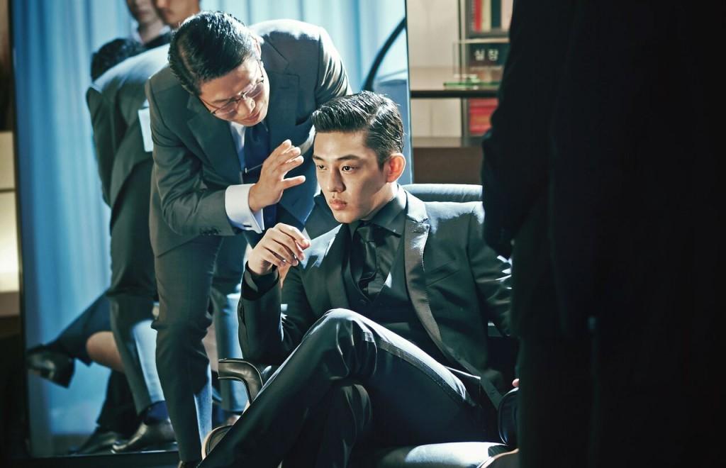 "Yoo Ah-in in ""Veteran"" (Photo courtesy of CJ Entertainment)"
