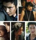 "Clockwise, top to right: Won Bin (""Man From Nowhere""), Kim Hye-soo (""Tazza""), Kim Soo-hyun, Kim Yoon-seok (""Tazza""), Park Bo-young and Song Joong-ki (""Werewolf Boy"")"