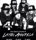 4MINUTE FAN BASH IN LATIN AMERICA