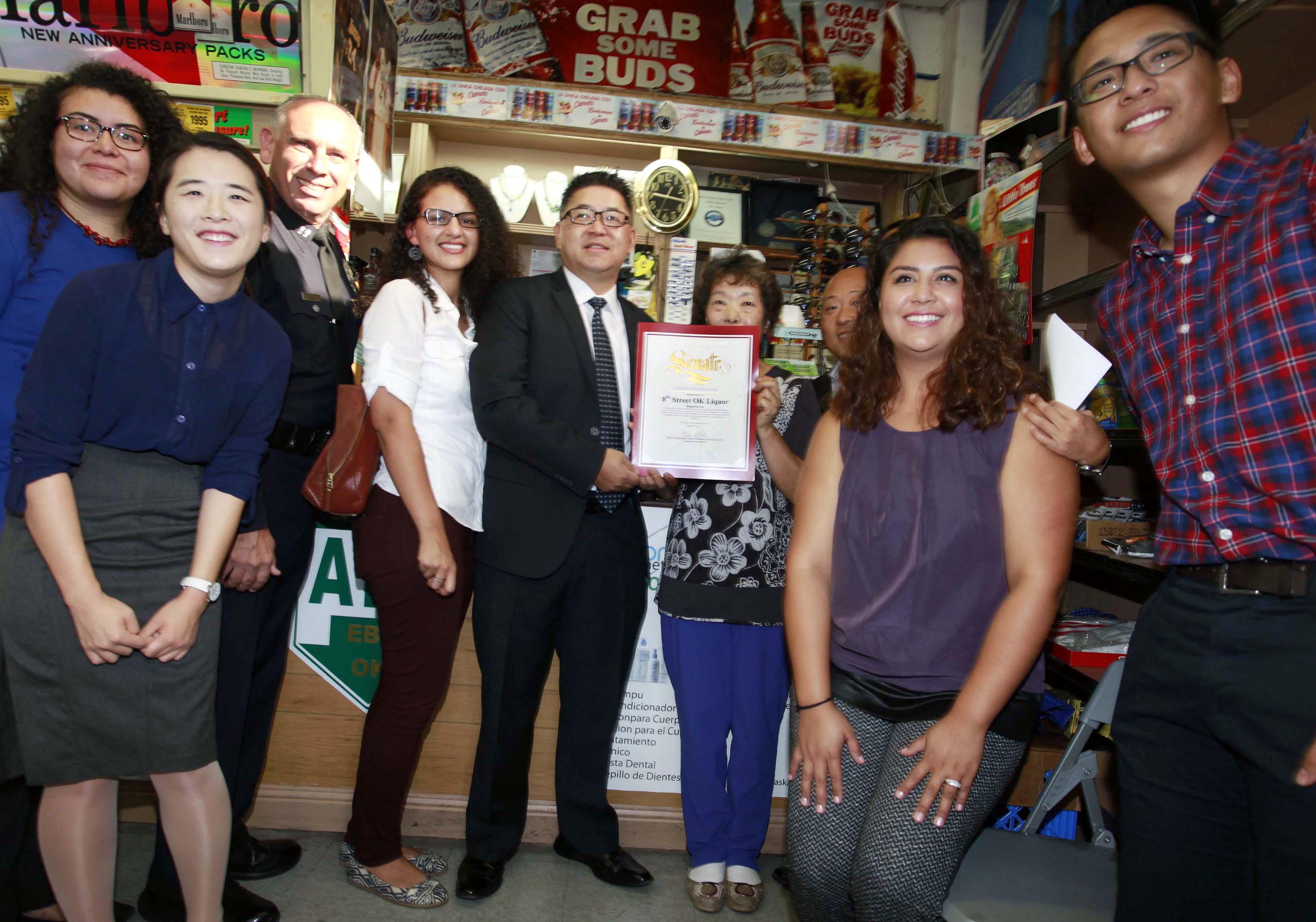 K-Town 'Korean Mama' liquor store receives commendation – The Korea