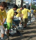 About 160 PAVA volunteers helped clean up the Central Hollywood area Saturday.