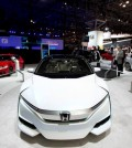 An earlier version of the Honda FCV (AP Photo/Mark Lennihan)