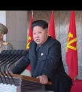 In this image made from video, North Korean leader Kim Jong Un delivers a speech during the ceremony to mark the 70th anniversary of the country's ruling party in Pyongyang, Saturday, Oct. 10, 2015. North Korean leader Kim Jong Un declared Saturday that his country was ready to stand up to any threat posed by the United States as he spoke at a lavish military parade to mark the 70th anniversary of the North's ruling party and trumpet his third-generation leadership. (KRT via AP Video)
