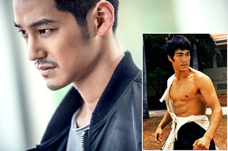 "Kim Beom from tvN's ""Hide your Identity"" and the late Bruce Lee (inbox)"