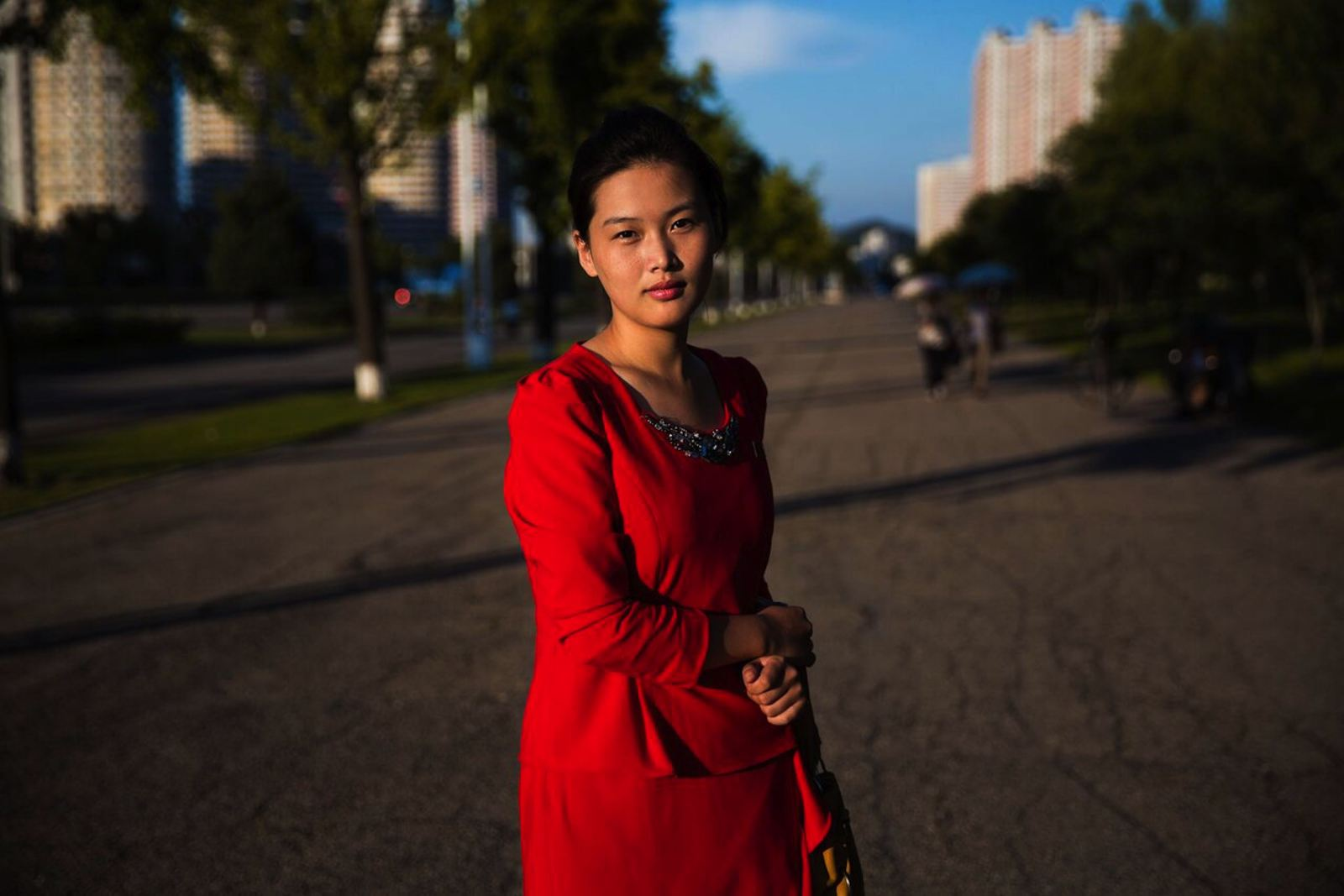 Photographer provides rare portrait of N. Korean women's